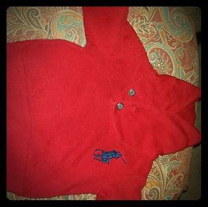 Ralph Lauren Polo sweater sz 9 mo